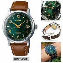 Seiko Presage Сталь 39mm Зеленый