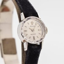 Rolex Manual winding Silver 15mm pre-owned Oyster Precision