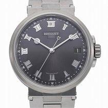 Breguet (ブレゲ) マリーン 新品 自動巻き 正規のボックスと正規の書類付属の時計 5517TI/G2/TZ0