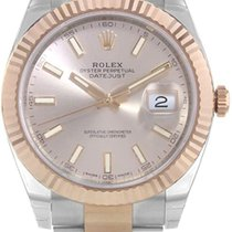 Rolex Datejust II Gold/Steel 41mm Pink No numerals United States of America, Illinois, Chicago