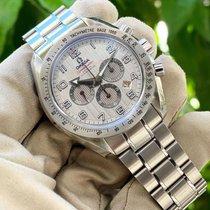 Omega Speedmaster Broad Arrow nuevo 2012 Automático Cronógrafo Reloj con estuche original 321.10.44.50.02.001
