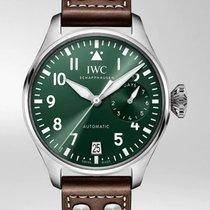 IWC Big Pilot Steel Green