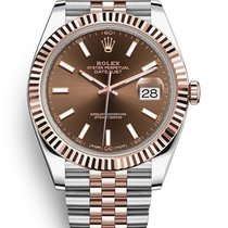 Rolex Datejust II Rose gold 41mm Brown United States of America, Illinois, Chicago