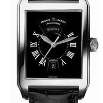 Maurice Lacroix Pontos nuevo Automático Reloj con estuche y documentos originales PT6147-SS0001-31E