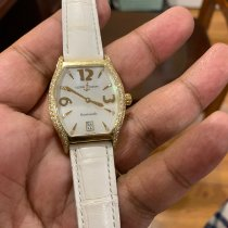 Ulysse Nardin Yellow gold Automatic Mother of pearl Arabic numerals 32mm pre-owned Michelangelo