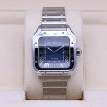 Cartier Santos (submodel) Steel 39.8mm Blue Roman numerals United States of America, Tennesse, Nashville