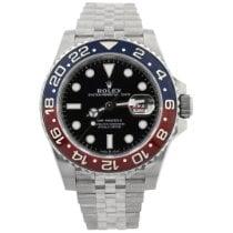 Rolex GMT-Master II Steel 40mm Black No numerals United States of America, California, Fullerton