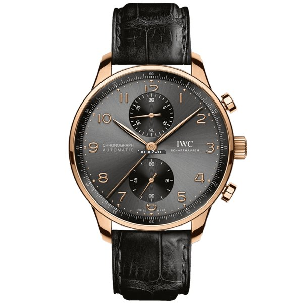 IWC Portuguese Chronograph IW371610 2021 новые