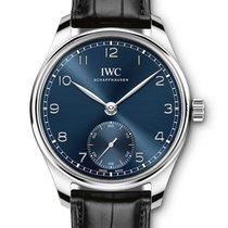 IWC Portuguese Automatic ny 2021 Automatisk Klocka med originallåda och originalhandlingar IW358305