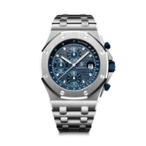 Audemars Piguet Royal Oak Offshore Chronograph Steel 42mm Blue No numerals United States of America, Illinois, Chicago