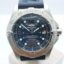 Breitling Superocean Steelfish Сталь 44mm Синий Aрабские