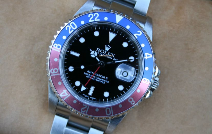Rolex GMT-Master II 16710T 2001 pre-owned