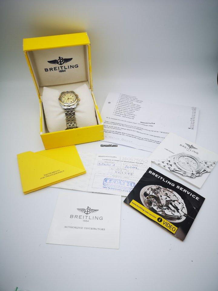 Breitling Chronomat B13050.1 1995 pre-owned