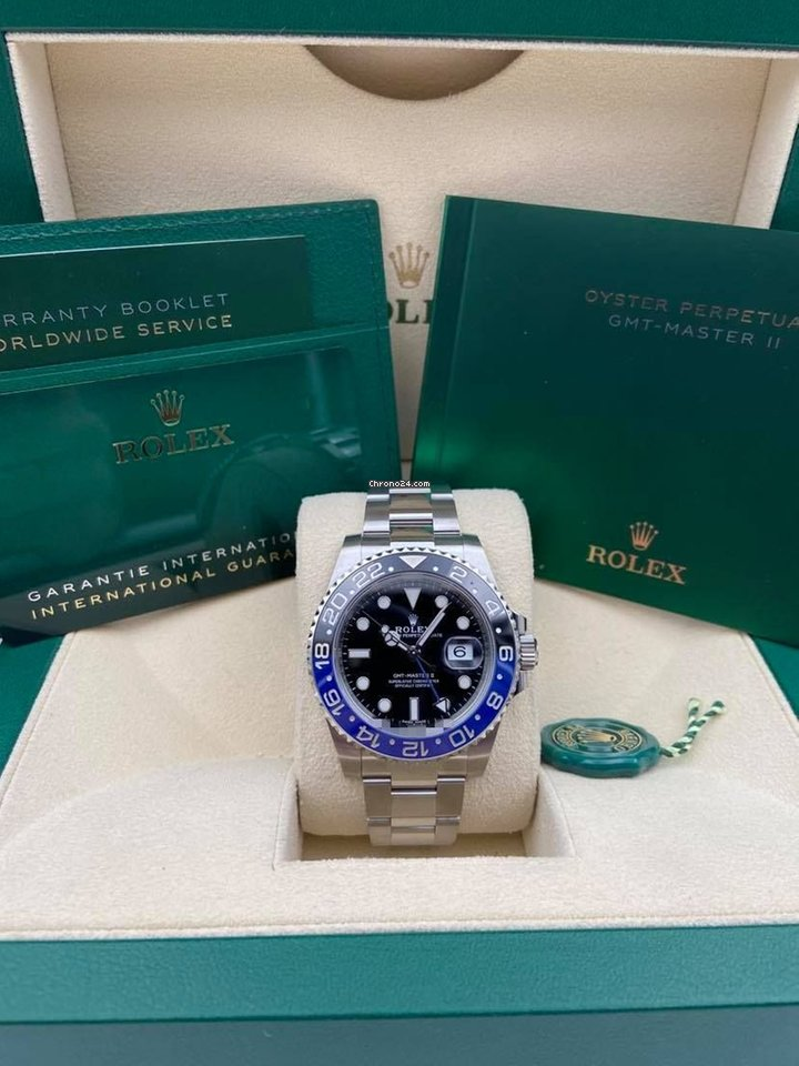 Rolex GMT-Master II 116710BLNR 2020 new