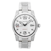 Eberhard & Co. Scafo Steel 42mm White No numerals United States of America, Pennsylvania, Bala Cynwyd