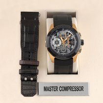 Jaeger-LeCoultre Master Compressor Extreme LAB 2 Tribute to Geophysic Rose gold 46.8mm Transparent United States of America, New York, Airmont