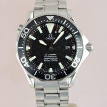 Omega Seamaster Diver 300 M gebraucht 41mm Schwarz Datum Stahl