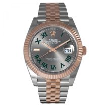Rolex Rose gold Automatic Grey 41mm new Datejust II