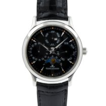 Jaeger-LeCoultre Master Ultra Thin Perpetual Steel 37mm Black