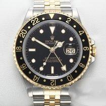 Rolex GMT-Master II 16713 Foarte bună Aur/Otel 40mm Atomat