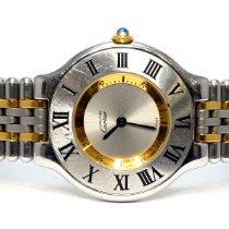 Cartier 21 Must de Cartier Сталь 31mm Cеребро Римские