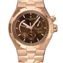 Vacheron Constantin Overseas Dual Time Rose gold 42,5mm Brown