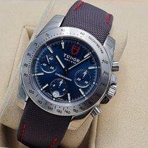 Tudor Sport Chronograph Steel 41mm Blue No numerals