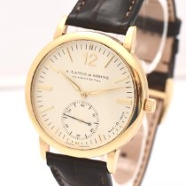 A. Lange & Söhne Yellow gold Automatic White pre-owned Langematik