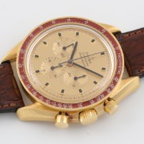 Omega Speedmaster Professional Moonwatch Yellow gold 42mm Gold No numerals
