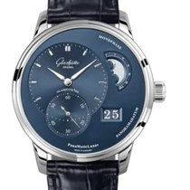 Glashütte Original PanoMaticLunar new 2021 Automatic Watch with original box and original papers 1-90-02-46-32-35