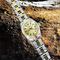 Rolex Oyster Perpetual Lady Date Or/Acier 26mm Or Sans chiffres France, Marseille