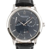 Jaeger-LeCoultre Platinum Automatic Blue 37mm pre-owned Master Control