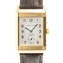 Jaeger-LeCoultre Reverso Duoface Yellow gold 36mm Silver