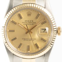 Rolex 16013 Gold/Steel 1979 Datejust 36mm pre-owned