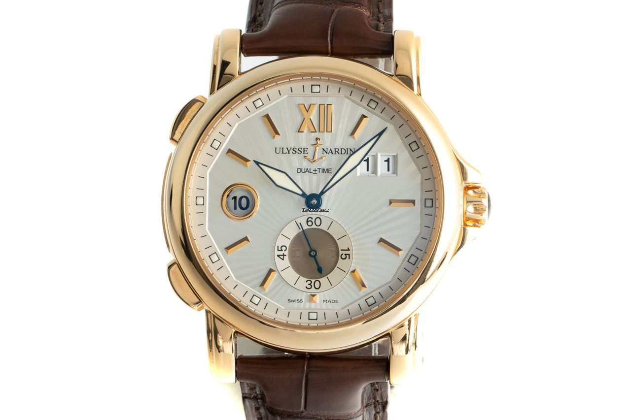Ulysse Nardin Dual Time 246-55 2014 pre-owned