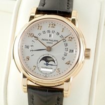 Patek Philippe Or rouge Remontage manuel Argent 36.8mm occasion Minute Repeater Perpetual Calendar