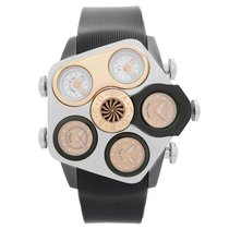 Jacob & Co. Five Time Zone Stahl 47mm