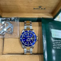 Rolex 16613 Gold/Steel 2002 Submariner Date 40mm pre-owned United States of America, New York, New York