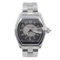 Cartier Roadster Steel 37mm Grey No numerals United States of America, New York, New York