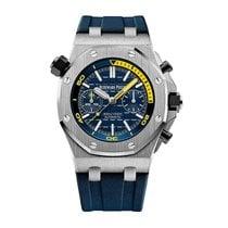 Audemars Piguet Royal Oak Offshore Diver Steel 42mm Blue No numerals United States of America, Illinois, Chicago