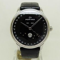 Jaquet-Droz Steel Automatic Black 43mm pre-owned Astrale