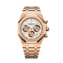Audemars Piguet Royal Oak Chronograph Rose gold 38mm Silver United States of America, Illinois, Chicago