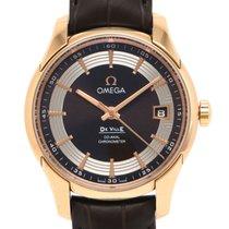 Omega (オメガ) デ・ビル アワービジョン 新品 自動巻き 正規のボックスと正規の書類付属の時計 431.63.41.21.13.001