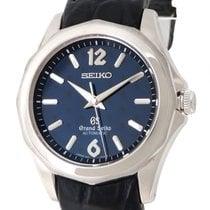 Seiko White gold Automatic Blue 40mm pre-owned Grand Seiko