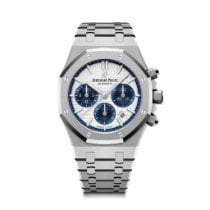 Audemars Piguet Royal Oak Chronograph Steel 38mm Silver No numerals United States of America, Illinois, Chicago