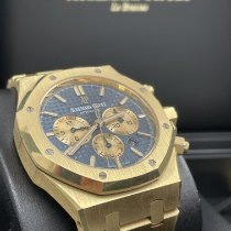 Audemars Piguet Royal Oak Chronograph Oro amarillo 41mm Azul Sin cifras