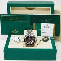 Rolex Steel Automatic Black No numerals 44mm pre-owned Sea-Dweller Deepsea