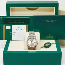 Rolex Day-Date 36 White gold 36mm Silver United States of America, California, Los Angeles