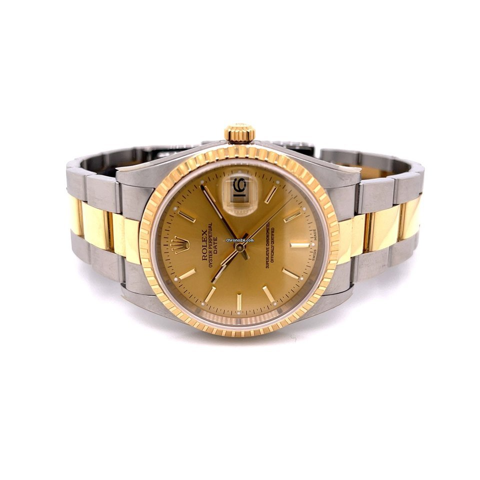 Rolex Oyster Perpetual Date 15233 2006 new