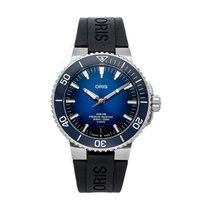 Oris Steel Automatic No numerals 43.5mm pre-owned Aquis Date